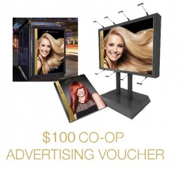 $100 CAD Co-op Advertising Voucher