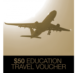 $50 CAD Education Travel Voucher