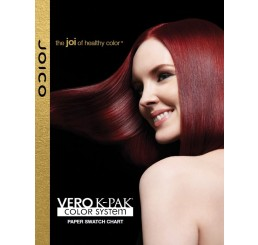 Vero K-PAK Color Paper Swatch Chart - English