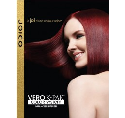 Vero K-PAK Color Paper Swatch Chart - French